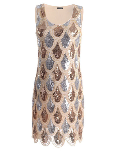 Платье Рыбья Чешуя Купить