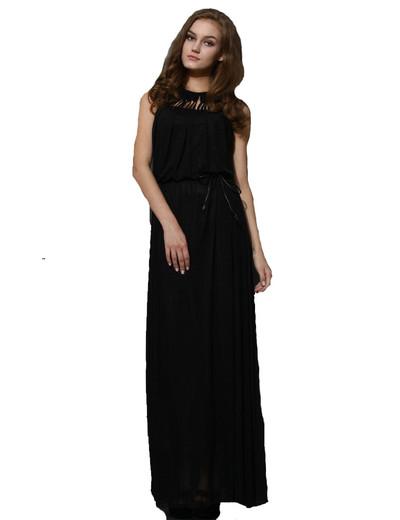 /black-sleeveless-caga-cutout-hollow-sleeveless-maxi-dress-p-1187.html