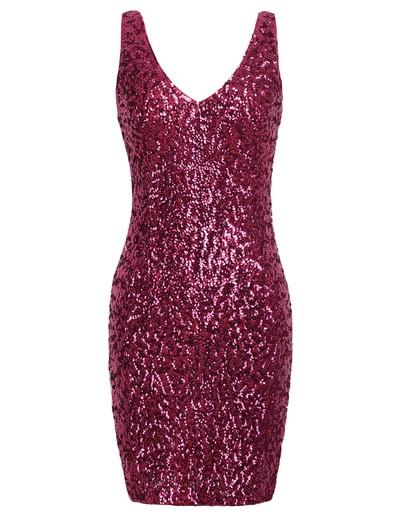 /rose-red-sequins-glitter-deep-v-neck-party-dress-p-1229.html