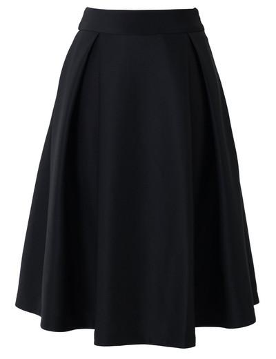 /black-high-waist-a-line-pleated-midi-skate-skirt-p-1047.html