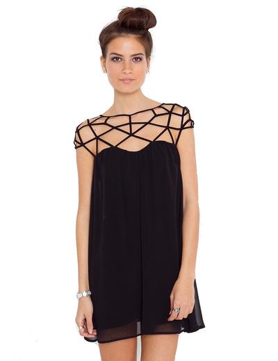 /women-weave-net-grid-cutout-double-layer-chiffon-mini-dress-p-472.html