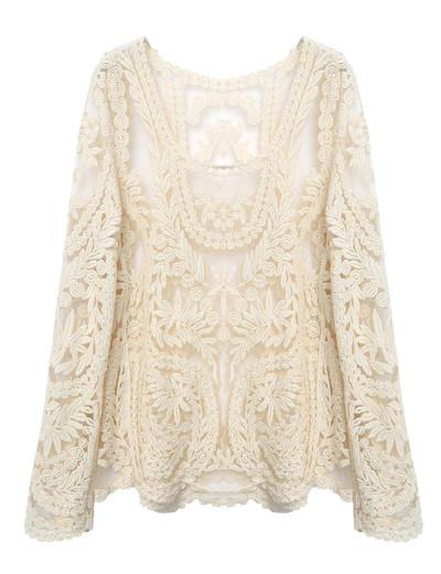 Vintage Lace Blouses Tops