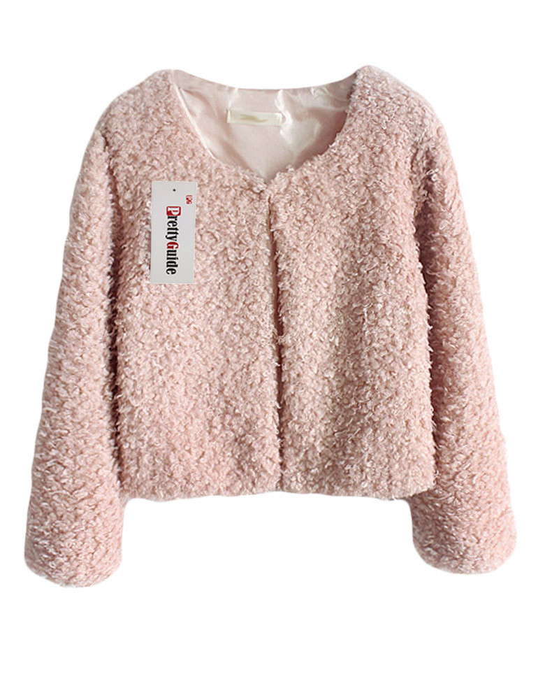 Pink Fuzzy Jacket Jackets Review