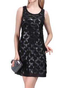 /scale-sequins-plaid-sleeveless-vest-dress-black-p-4348.html