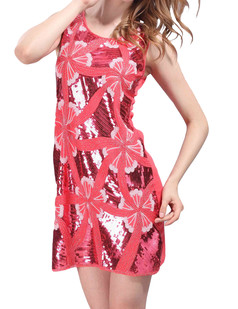 /sequined-embroidered-flowers-dress-watermelon-red-p-4312.html