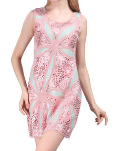 /fr/sequin-deco-maxi-flower-bloom-party-dress-pink-p-4012.html