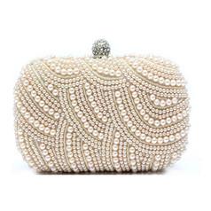/vogue-pure-handmade-pearl-beads-rhinestone-closure-evening-clutch-rectangle-cocktail-bag-handbag-purse-2-chain-straps-p-137.html