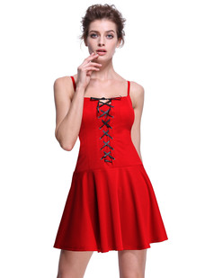 /corset-tie-front-victorian-gothic-revival-style-skater-dress-red-p-7448.html