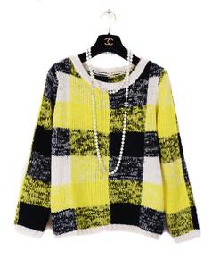 /plaid-knit-sweater-crop-top-pencil-skirt-suit-set-red-p-1260.html