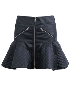 /black-zipper-plaid-umbrella-ruffle-faux-leather-skirt-p-1255.html