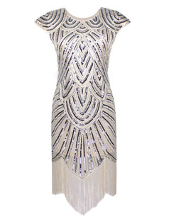 /beige-sequin-embellished-fringed-flapper-dress-p-7220.html