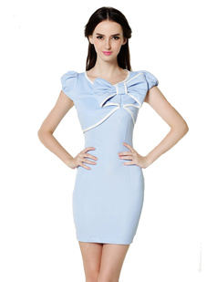 /fr/women-big-bow-blue-mini-pencil-pencil-dress-p-651.html