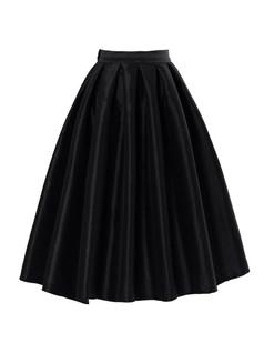 /black-high-waist-a-line-pleated-midi-bubble-skirt-p-1239.html