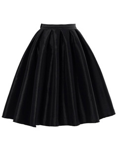 /high-waist-a-line-pleated-midi-bubble-skirt-black-p-3908.html