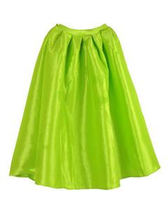 /neon-green-high-waist-a-line-pleated-midi-bubble-skirt-p-1149.html