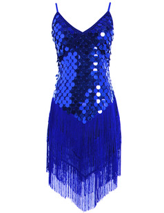 /ru/sequined-inverted-triangle-fringed-tassels-hem-dress-p-1461.html