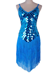 /sequined-inverted-triangle-fringed-tassels-hem-dress-lake-blue-p-5410.html