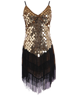 /sequined-inverted-triangle-fringed-tassels-hem-dress-p-1460.html