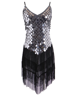 /sequined-inverted-triangle-fringed-tassels-hem-dress-p-1459.html