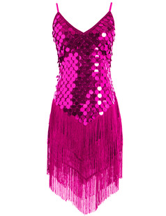 /sequined-inverted-triangle-fringed-tassels-hem-dress-p-1457.html