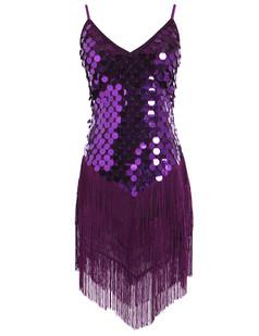 /ja/sequined-inverted-triangle-fringed-tassels-hem-dress-p-6440.html