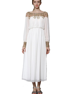 /white-beads-embellished-chiffon-maxi-dress-p-1720.html