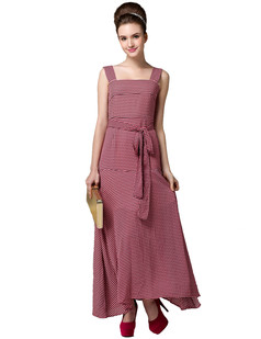 /pink-lady-simple-plaid-maxi-long-strap-tunic-dress-p-1574.html