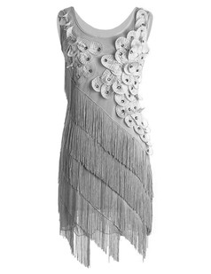 /gray-flower-fringe-ornate-double-side-flapper-dress-p-6316.html