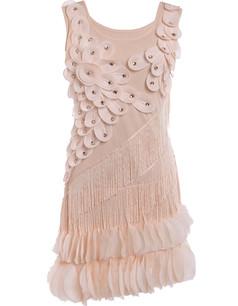 /beige-flower-fringe-ornate-double-side-petal-hem-dress-p-6260.html