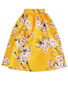 /elegant-peach-plum-a-line-pleated-bubble-skirt-yellow-p-3868.html