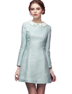 /women-peter-pan-collar-long-sleeve-a-line-dress-p-684.html