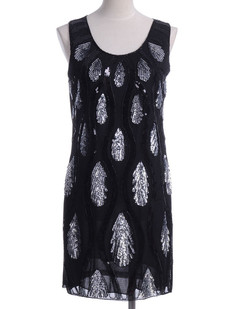/fr/black-peacock-feather-pattern-sequin-embellishments-shift-dress-p-1810.html