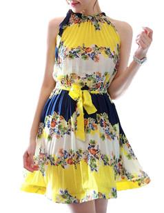 /fr/waist-ribbon-tie-pleated-halter-paisley-ruffle-dress-p-3212.html