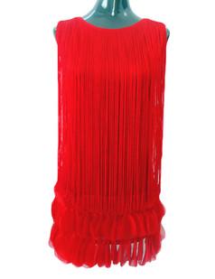 /red-fringed-petal-hem-dress-p-2292.html