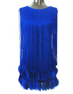 /blue-fringed-petal-hem-dress-p-5546.html