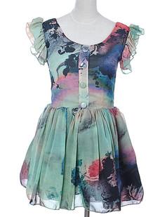 /ink-painting-halo-ear-cuff-high-waist-chiffon-short-dress-p-1838.html