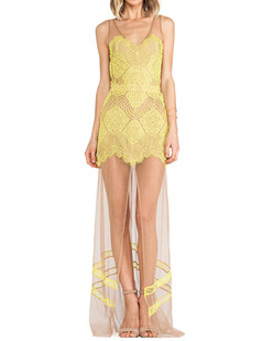 /fashion-vneck-backless-lace-stitching-gauze-long-dress-yellow-p-3542.html