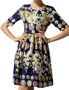 /character-coins-print-sleeveless-satin-dress-blue-p-2902.html