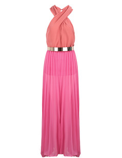 /halter-sleeveless-pleated-chiffon-maxi-dress-with-belt-p-4060.html
