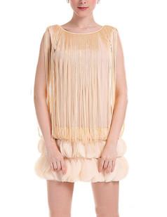 /fr/beige-fringed-petal-hem-dress-p-2288.html