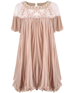 /sheer-mesh-yoke-beads-embellished-dolly-dress-pink-p-3242.html