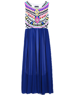 /tribal-sleeveless-print-chiffon-maxi-dress-blue-p-3160.html