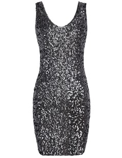 /black-sequins-glitter-deep-v-neck-party-sleeves-dress-p-1228.html