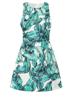 /fr/tropical-green-sleeveless-weed-maple-leaves-backless-dress-p-3592.html