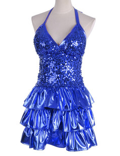 /sequin-embellished-tiered-ruffle-hem-shiny-dress-blue-p-4504.html