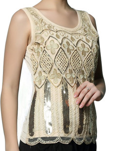 /sequin-deco-embroidery-clover-shirt-beige-p-6738.html