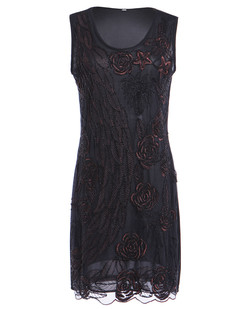 /black-beads-deco-handmade-embroidered-floral-and-leaves-dress-p-6254.html
