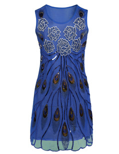 /blue-embroidered-floral-deco-peacock-feather-dress-p-6704.html
