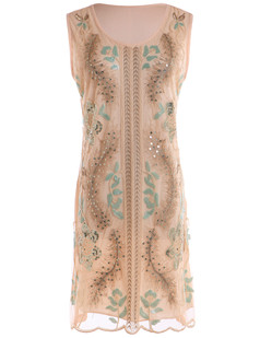 /beige-art-deco-handmade-embroidered-sequin-floral-dress-p-6498.html