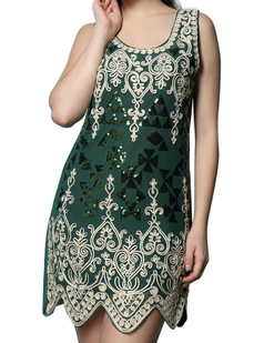/baroque-pattern-scallop-hem-embroidered-dress-green-p-6728.html